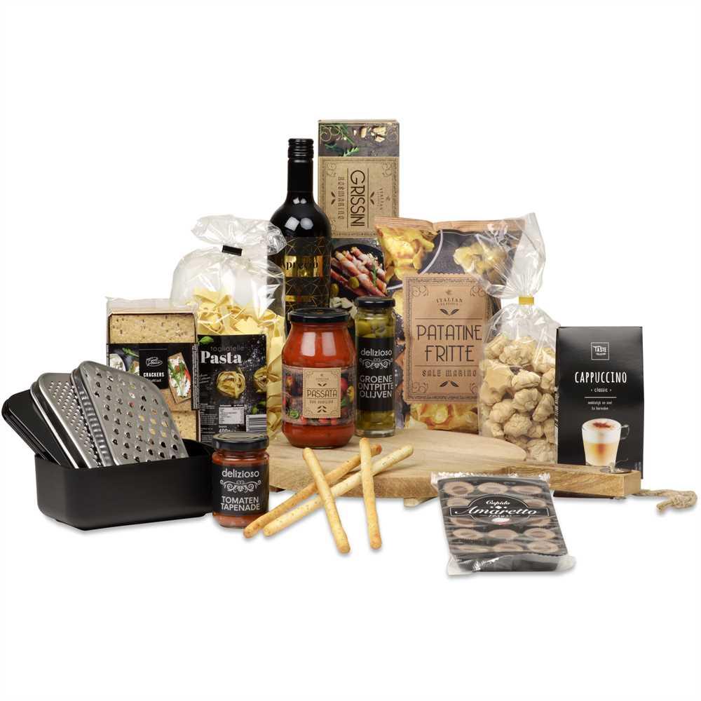 Kerstpakket Italiaanse Borrel Makrokerstpakketten Nl