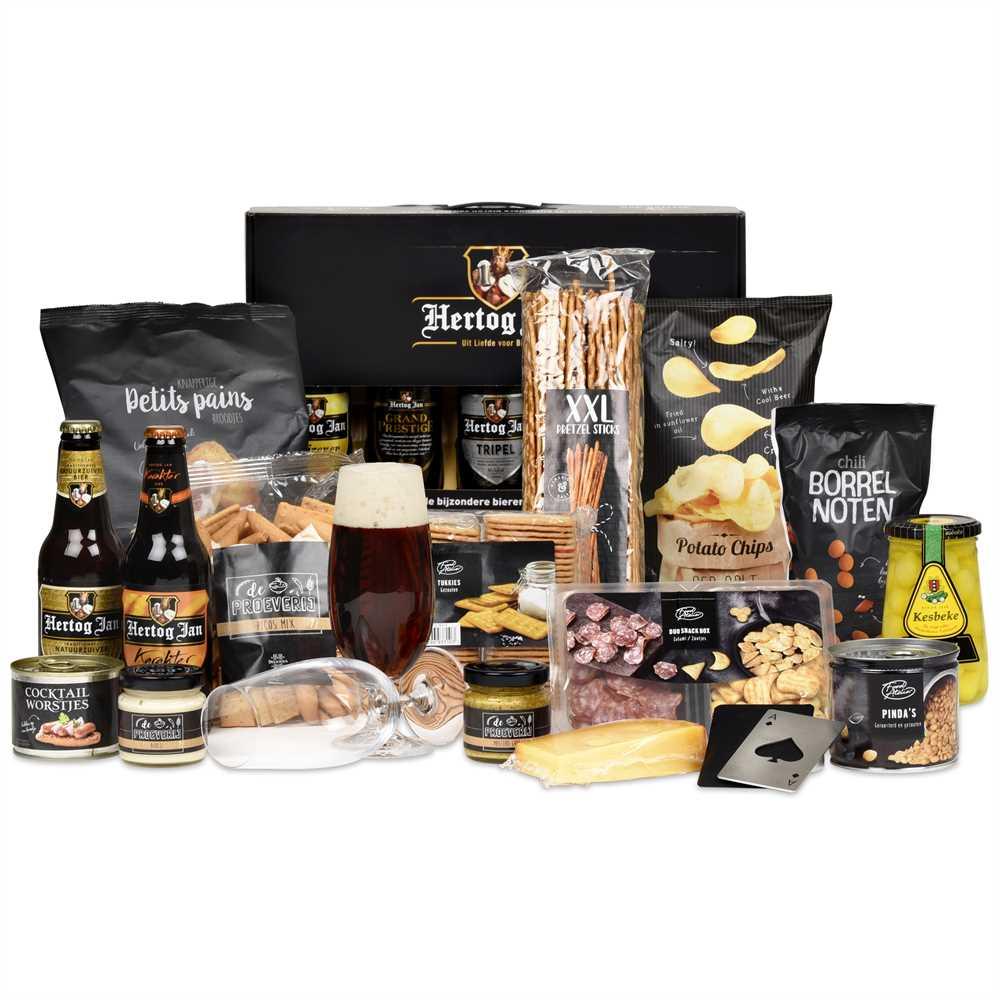 Kerstpakket Bier Borrel Makrokerstpakketten Nl