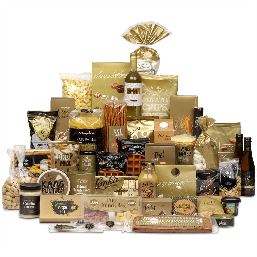 Kerstpakket Gouden Tradities Makrokerstpakketten Nl