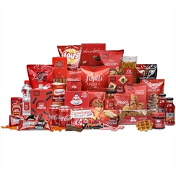 16. 'Rode sfeer' kerstpakket