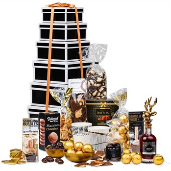 65. 'Choco toren' kerstpakket