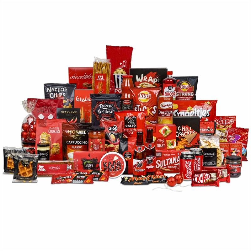 27. 'Rode overload' kerstpakket