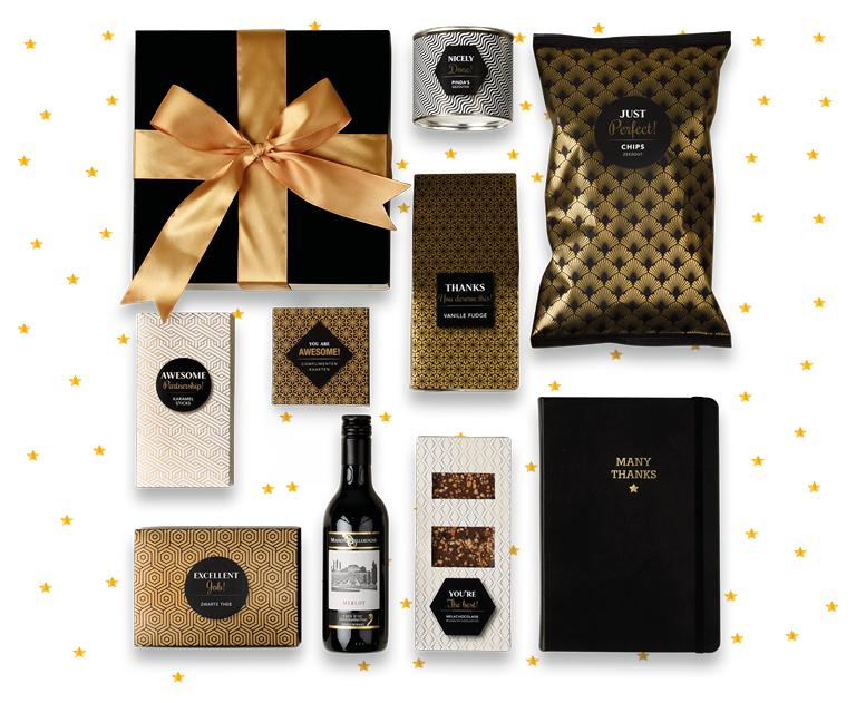 Trendy Kerstpakketten. Bekijk ze allemaal.