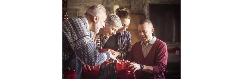 Kerstgeschenken voor iedereen